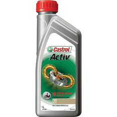 Castrol Activ 2T Motorcycle Oil 1 Litre, , scaau_hi-res