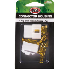 SCA Quick Connect Housing - 4 Way, 20 AMP, , scaau_hi-res
