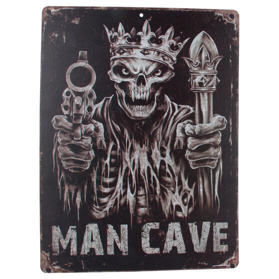 Hot Stuff Sticker - Skulls Guns Man Cave, Vinyl, , scaau_hi-res