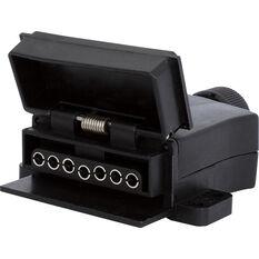 KT Cable Trailer Socket, Plastic - Flat, 7 Pin, , scaau_hi-res