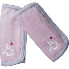 Cabin Crew Kids Seat Belt Buddies - Pink & Grey, Pair, , scaau_hi-res