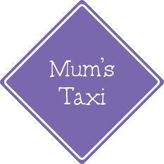 SCA Car Sign - Mum's Taxi, Purple, , scaau_hi-res