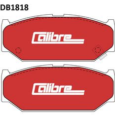 Calibre Disc Brake Pads DB1818CAL, , scaau_hi-res