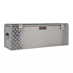 Tool Box - Aluminium Checkerplate, 180 Litre, , scaau_hi-res