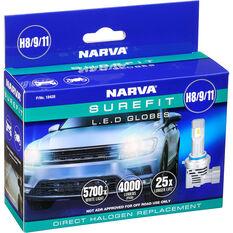 Narva LED Headlight Surefit Suits H8 H9 H11, , scaau_hi-res