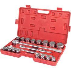 SCA Socket Set - 3 / 4 inch Drive, Metric, 20 Piece, , scaau_hi-res