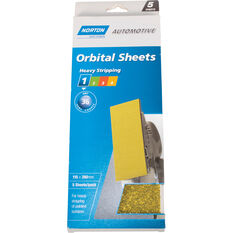 Norton Orbital Sheet - 36 Grit, 5 Pack, , scaau_hi-res