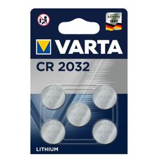 Varta Lithium Coin Battery - CR2032, 5 Pack, , scaau_hi-res