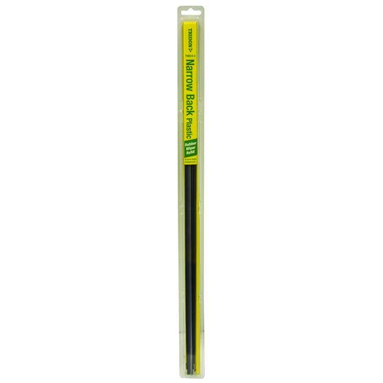 Tridon Wiper Refills - Plastic Narrow Back, Suits 6.5mm, 2 Pack, , scaau_hi-res