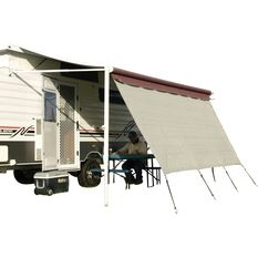 Camec Caravan Privacy Screen - 4.3m x 1.8m, , scaau_hi-res