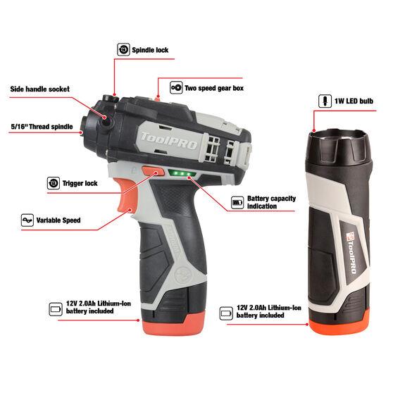 ToolPRO Polisher 2 Speed Kit 12V, , scaau_hi-res