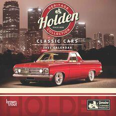 Calendar Holden Classic Cars Square 2021, , scaau_hi-res