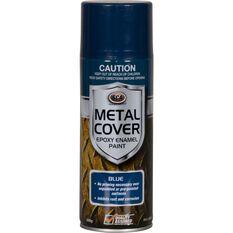 Metal Cover Aerosol Rust Paint - Enamel, Blue, 300g, , scaau_hi-res