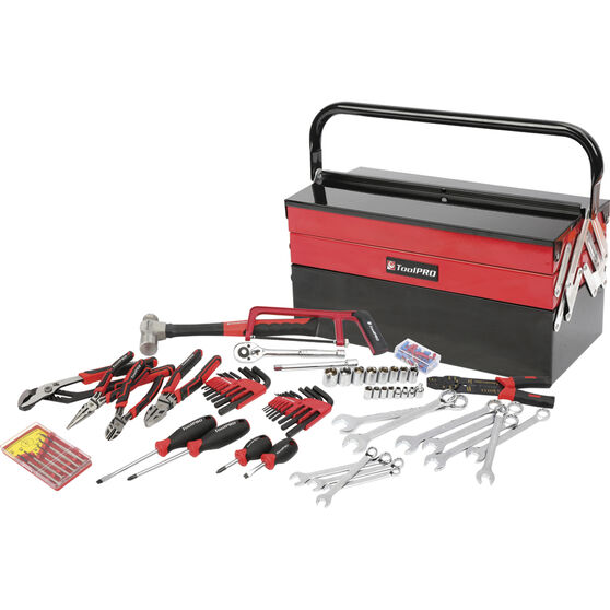 ToolPRO Tool Kit - Cantilever, 115 Piece, , scaau_hi-res