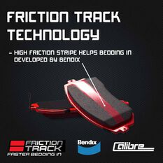 Calibre Disc Brake Pads DB1850CAL, , scaau_hi-res