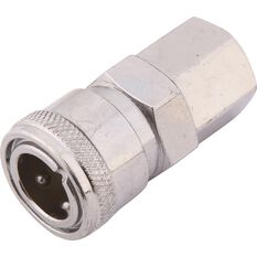 Air Fitting Coupler, Female Coupler - 1/4, , scaau_hi-res