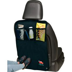 Little Car Backseat Scuff Protector - Black, , scaau_hi-res