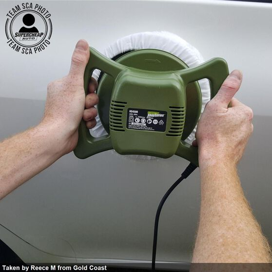 Rockwell ShopSeries Car Polisher - 240mm, 120 Watt, , scaau_hi-res
