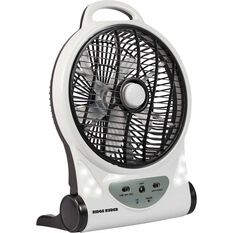 Ridge Ryder Fan, Rechargeable - 10 inch, , scaau_hi-res
