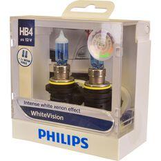 Philips WhiteVision Headlight Globe - 51W, HB4, , scaau_hi-res