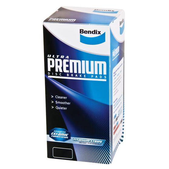Bendix Ultra Premium Disc Brake Pads - DB1802UP, , scaau_hi-res