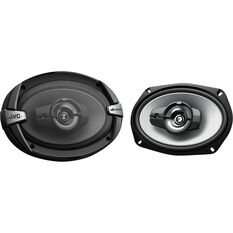 JVC 6 inch x 9 inch 3 Way Speakers - CS-DR693, , scaau_hi-res