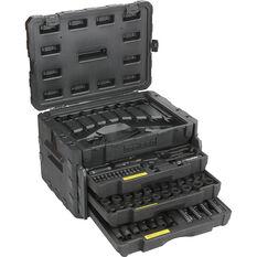 ToolPRO Mechanics Tool Kit Black Chrome 320 Piece, , scaau_hi-res