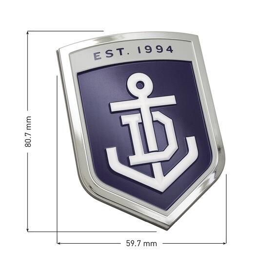 Freemantle AFL Supporter Logo - 3D Chrome Finish, , scaau_hi-res