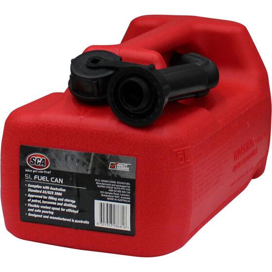 SCA Petrol Jerry Can - 5 Litre, , scaau_hi-res