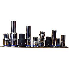 ToolPRO Socket Rail Set - 10mm, 10 Piece, , scaau_hi-res