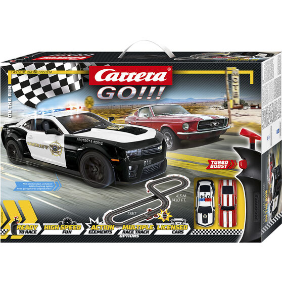 Carrera GO!!! On The Run Slot Racing Set, , scaau_hi-res