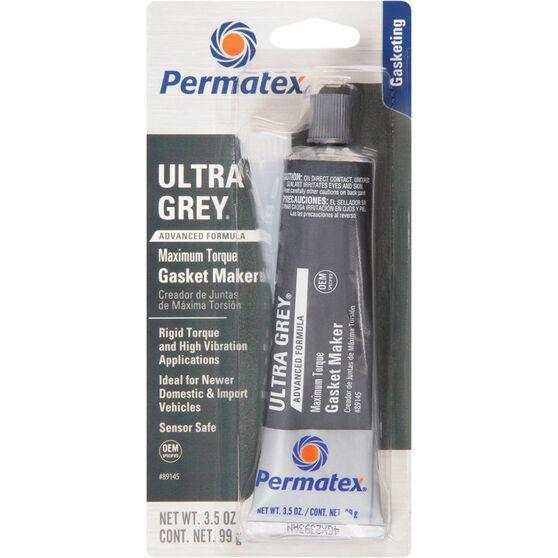 Ultra Grey RTV Silicone Gasket Maker - Rigid High Torque, 99g, , scaau_hi-res