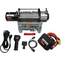 Ridge Ryder Electric Winch - 12V, 9500lb, , scaau_hi-res