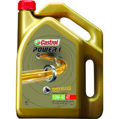 Castrol Power 1 GPS Motorcycle Oil - 10W-40, 4 Litre, , scaau_hi-res