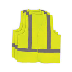 Hi Vis Vest - Yellow 3 Pack M, , scaau_hi-res
