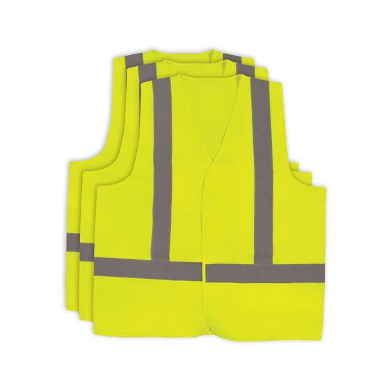 Hi Vis Vest - Yellow 3 Pack M, , scaau_hi-res