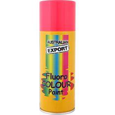 Aerosol Paint - Enamel, Fluoro Aurora Pink, 125g, , scaau_hi-res