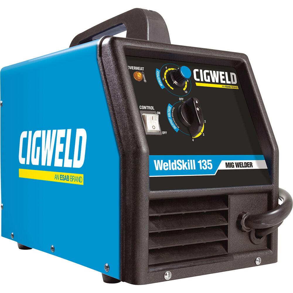 Cigweld Weldskill 135 Inverter Plant Mig Arc W1008135