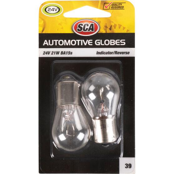 SCA Automotive Globe - Indicator / Reverse, 24V, 21W, 2 Pack, , scaau_hi-res