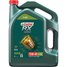 Castrol RX Super Engine Oil 15W-40 7 Litre, , scaau_hi-res