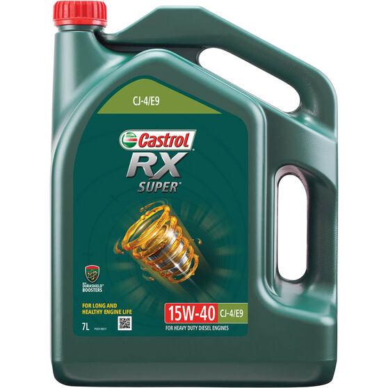 Castrol RX Super Engine Oil 15W-40 7 Litre, , scaau_hi-res