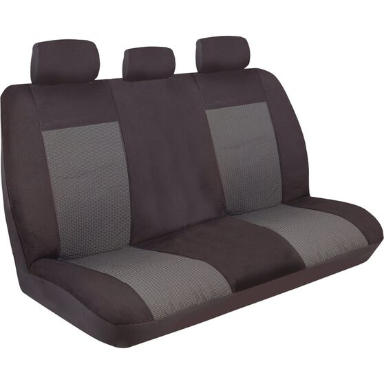 Imperial Seat Covers - Black, Rear Seat (Includes Headrests), Size 06, , scaau_hi-res