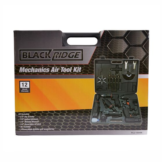 Blackridge Mechanics Air Tool Kit - 26 Piece, , scaau_hi-res