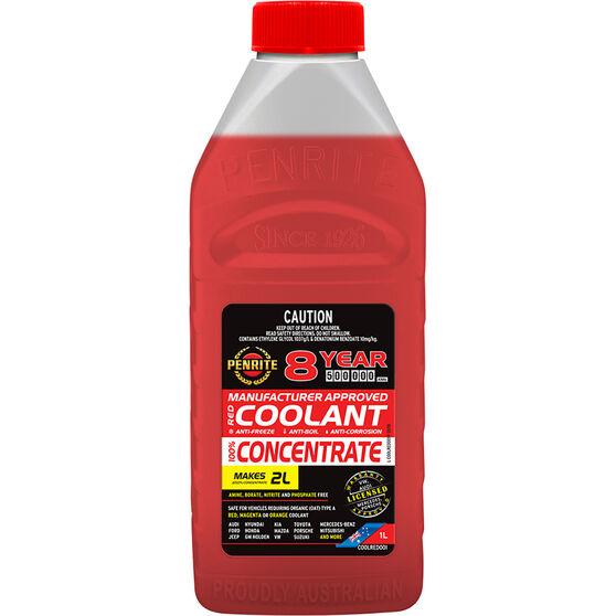 Penrite Red OEM Coolant Concentrate 1 Litre, , scaau_hi-res