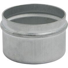 Bearing Dust Covers - 2 Piece, Zinc Plated, , scaau_hi-res