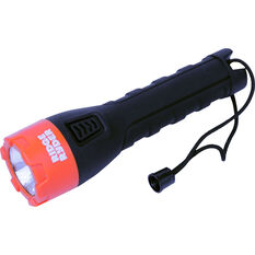 Torch - Rubberised, LED, 2AA, , scaau_hi-res