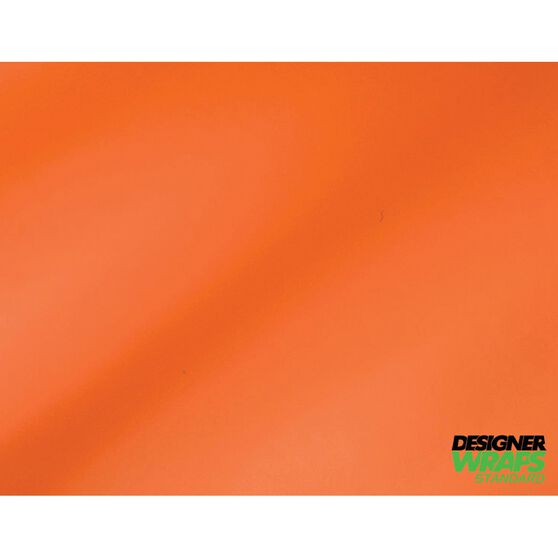Designer Wraps Standard - Matte Orange, Accessory Pack, 1.52 x 0.50m, , scaau_hi-res