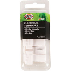 SCA Electrical Terminals - Wire Tap Connector, 3-4mm, 6 Pack, , scaau_hi-res