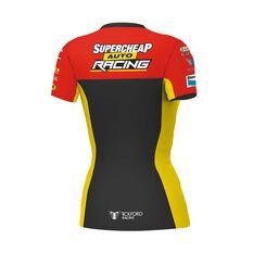 Supercheap Auto Racing Women's 2020 Team T-Shirt Black 8, Black, scaau_hi-res