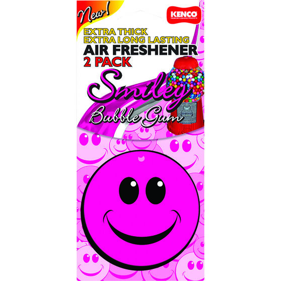 Kenco Air Freshener Smile - Bubble Gum, 2 Pack